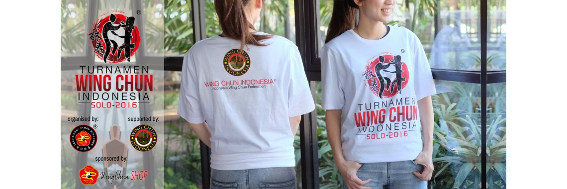 Official Shirt for Turnamen Wing Chun Indonesia