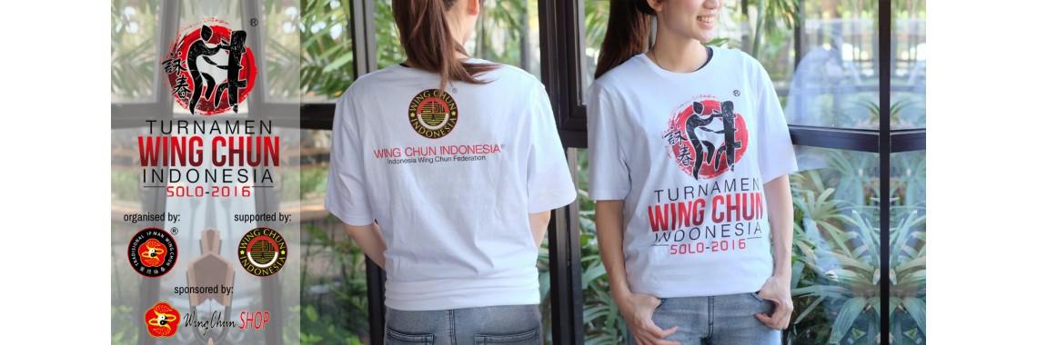 Kaos Resmi Turnamen Wing Chun Indonesia