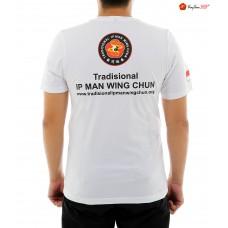 Kaos Wing Chun Putih